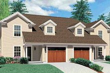 Dream House Plan - Colonial Exterior - Front Elevation Plan #48-817