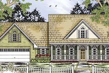House Plan Design - Country Exterior - Front Elevation Plan #42-699