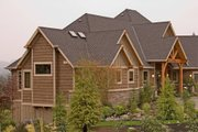 Craftsman Style House Plan - 4 Beds 3.5 Baths 5155 Sq/Ft Plan #48-607 Exterior - Front Elevation