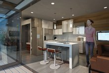 Traditional Interior - Kitchen Plan #484-10