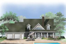 Dream House Plan - Craftsman Exterior - Rear Elevation Plan #929-399