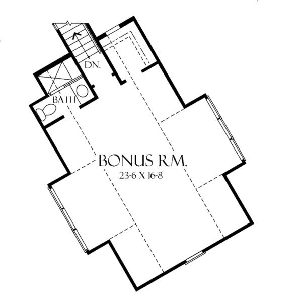House Plan Design - Craftsman Floor Plan - Other Floor Plan #929-932