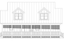 House Plan Design - Farmhouse Exterior - Rear Elevation Plan #932-345