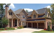 Architectural House Design - Traditional Exterior - Front Elevation Plan #54-339