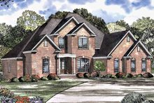Home Plan - Traditional Exterior - Front Elevation Plan #17-3009