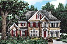 Home Plan - Colonial Exterior - Front Elevation Plan #927-76