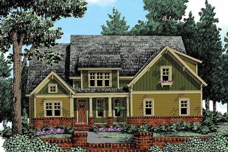 Craftsman Exterior - Front Elevation Plan #927-339 - Houseplans.com