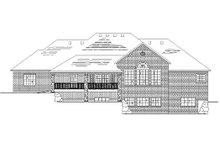 Dream House Plan - European Exterior - Rear Elevation Plan #5-290