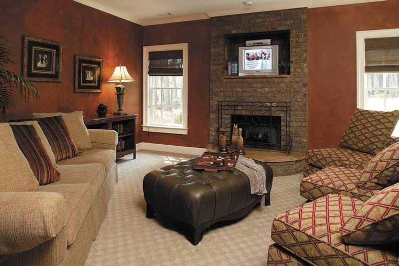 Colonial Interior - Family Room Plan #930-220 - Houseplans.com