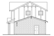 European Exterior - Other Elevation Plan #124-1037