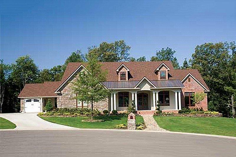 Architectural House Design - European Photo Plan #17-2272