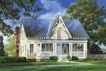Craftsman Exterior - Front Elevation Plan #137-337