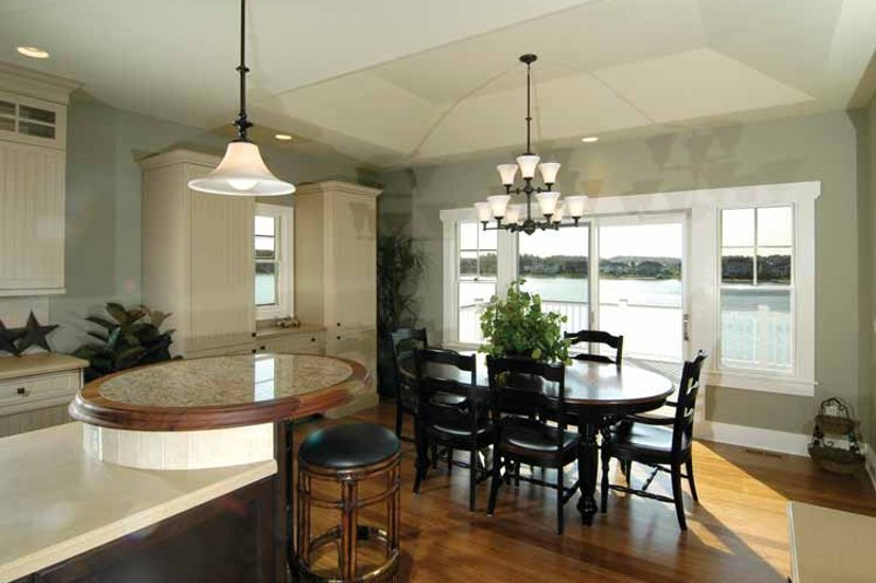 Craftsman Interior - Dining Room Plan #928-91 - Houseplans.com