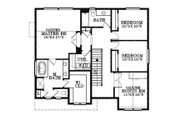Craftsman Style House Plan - 4 Beds 2.5 Baths 2248 Sq/Ft Plan #53-451 Floor Plan - Upper Floor Plan