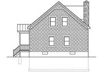 Cabin Exterior - Front Elevation Plan #1010-148