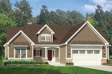 Home Plan - Ranch Exterior - Front Elevation Plan #1010-142