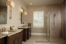 Mediterranean Interior - Master Bathroom Plan #930-456