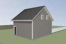 Southern Exterior - Other Elevation Plan #79-252