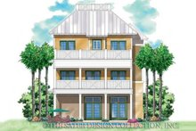 House Plan Design - Country Exterior - Rear Elevation Plan #930-168