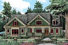 Dream House Plan - Craftsman Exterior - Front Elevation Plan #927-343