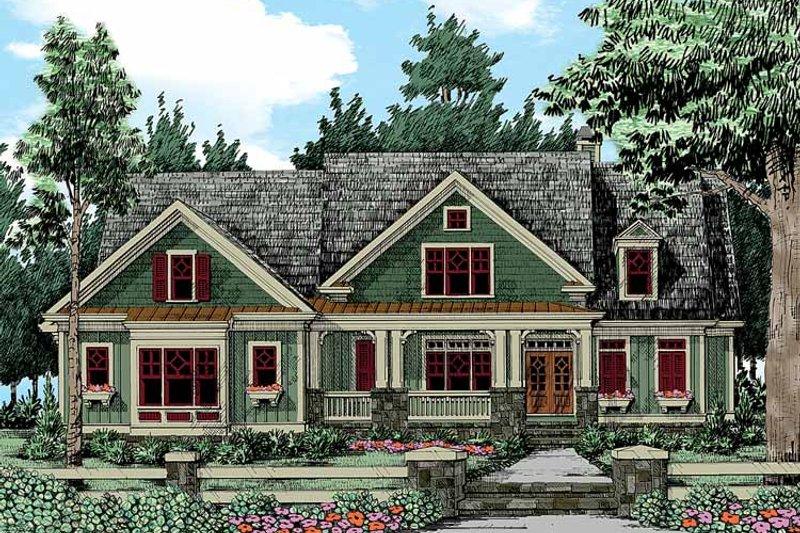 Craftsman Exterior - Front Elevation Plan #927-343 - Houseplans.com