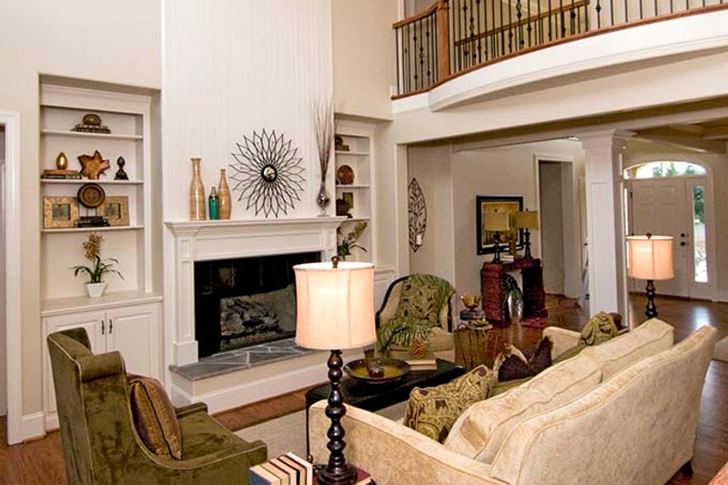 European Interior - Family Room Plan #929-870 - Houseplans.com