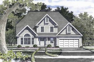 House Design - Traditional Exterior - Front Elevation Plan #316-218