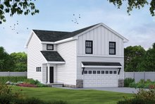 House Design - Farmhouse Exterior - Front Elevation Plan #20-2427