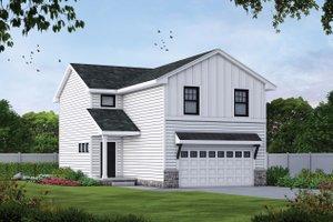 Farmhouse Exterior - Front Elevation Plan #20-2427