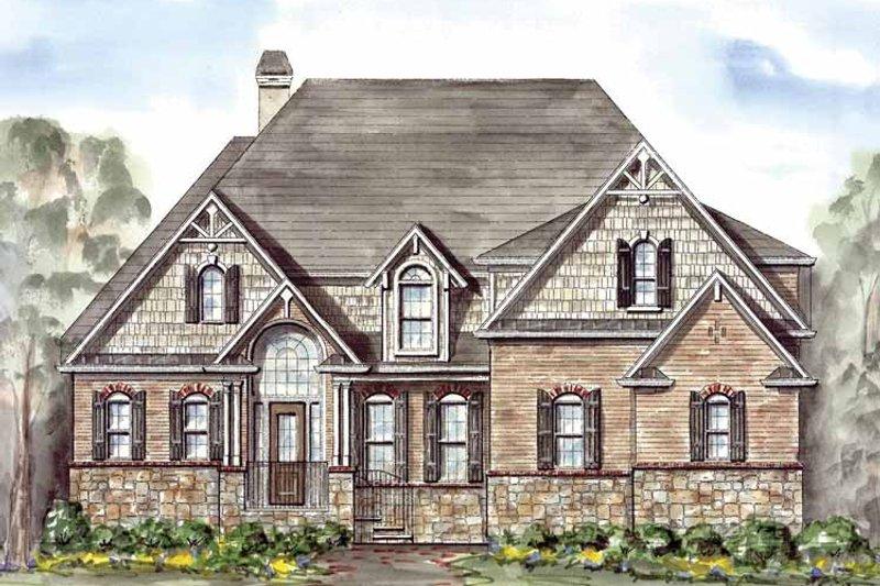 Victorian Exterior - Front Elevation Plan #54-260 - Houseplans.com
