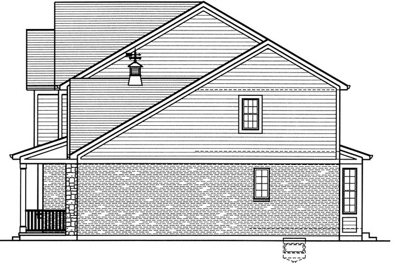 Colonial Exterior - Other Elevation Plan #46-860 - Houseplans.com