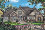 Country Style House Plan - 4 Beds 3 Baths 2578 Sq/Ft Plan #929-969 Exterior - Front Elevation