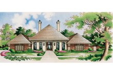 Home Plan Design - European Exterior - Other Elevation Plan #45-333