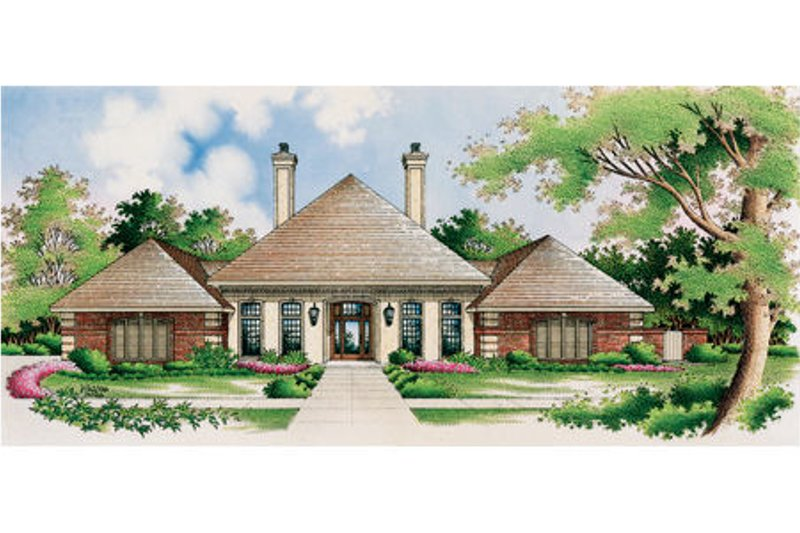 European Exterior - Other Elevation Plan #45-333 - Houseplans.com