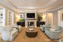 Home Plan - Country Interior - Family Room Plan #929-1006