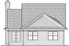 Traditional Exterior - Rear Elevation Plan #70-675