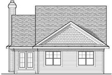 Dream House Plan - Traditional Exterior - Rear Elevation Plan #70-675