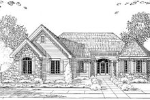 Traditional Exterior - Other Elevation Plan #46-430