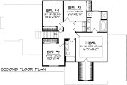 Ranch Style House Plan - 4 Beds 3 Baths 2316 Sq/Ft Plan #70-1033 Floor Plan - Upper Floor Plan