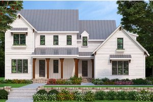 House Plan Design - Farmhouse Exterior - Front Elevation Plan #927-981