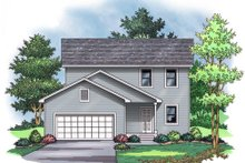 Traditional Exterior - Other Elevation Plan #51-374