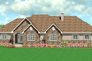 Traditional Exterior - Front Elevation Plan #414-131