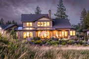 Craftsman Style House Plan - 4 Beds 3.5 Baths 3301 Sq/Ft Plan #895-50 Exterior - Other Elevation