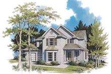 Dream House Plan - Farmhouse Exterior - Front Elevation Plan #48-210