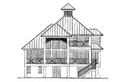 Traditional Style House Plan - 3 Beds 2 Baths 1978 Sq/Ft Plan #930-121 Exterior - Rear Elevation