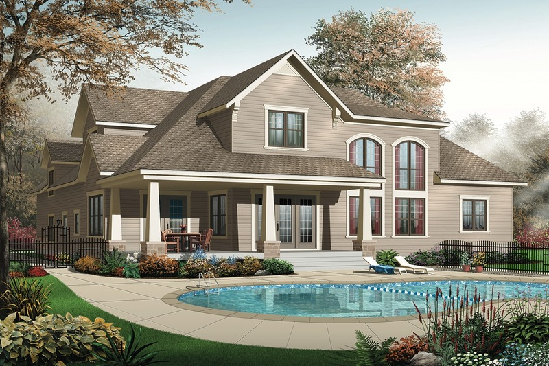 Traditional Photo Plan #23-400 - Houseplans.com