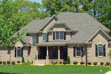 House Plan Design - Country Exterior - Front Elevation Plan #927-567