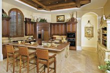 Mediterranean Interior - Kitchen Plan #930-416