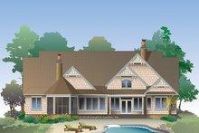 Craftsman Exterior - Rear Elevation Plan #929-988