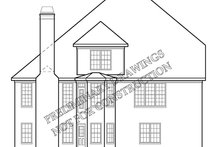 House Design - Country Exterior - Rear Elevation Plan #927-893